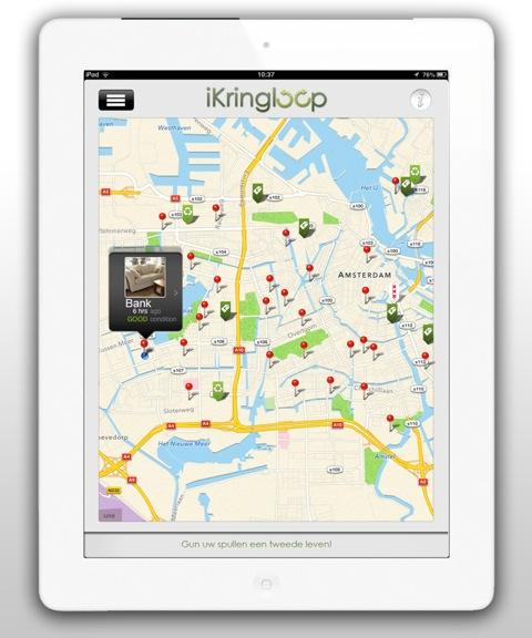 iKringloop Map View