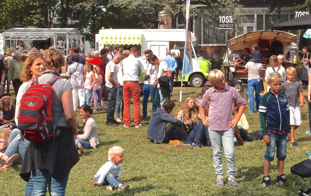 Food Truck Festival in Haarlem