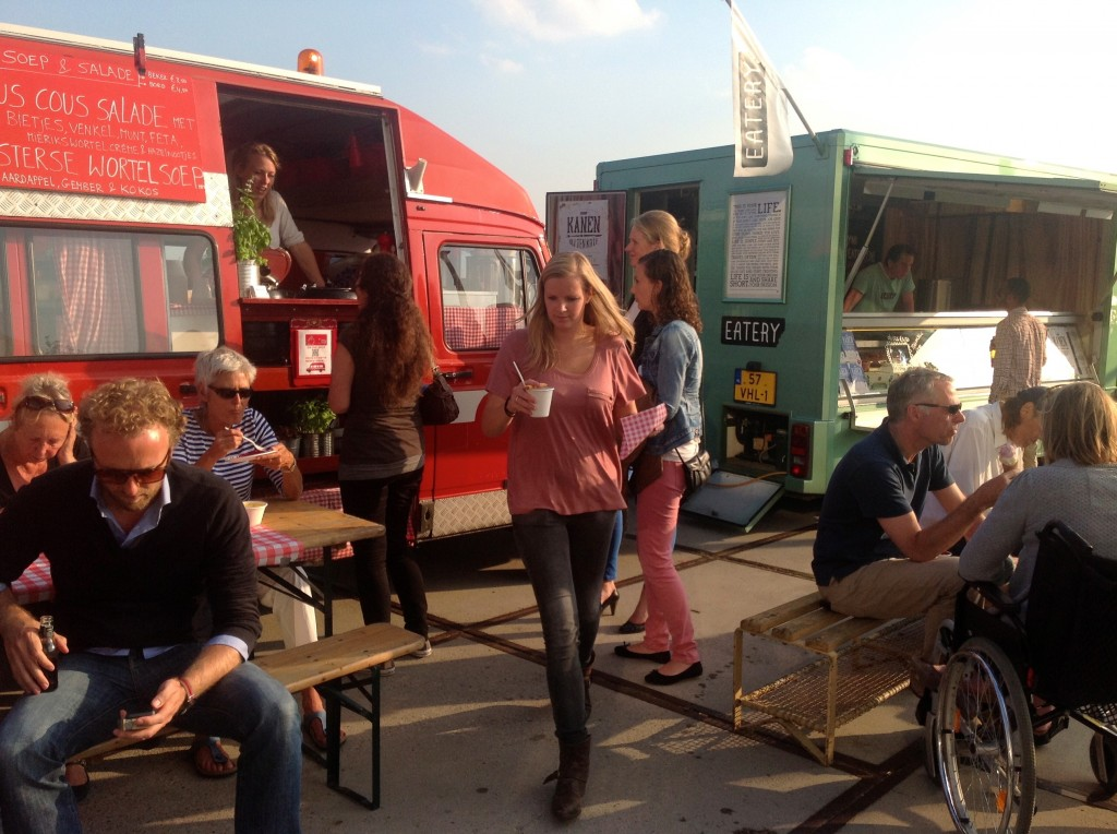 Food trucks, North Amsterdam, Amsterdam Noord
